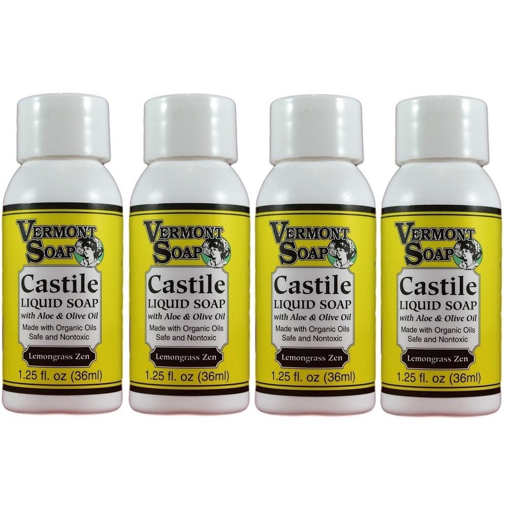 LemongrassZenCastileSoapTravelSize4