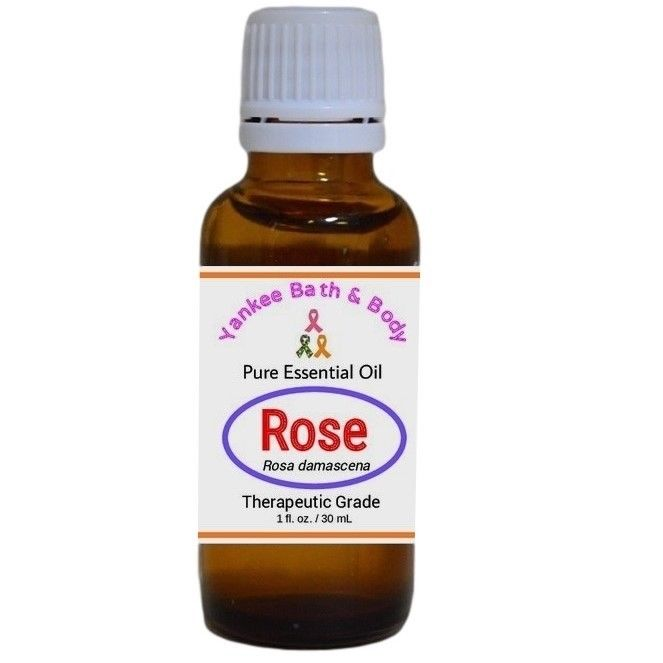Rose-Essential-Oil-Therapeutic-Grade-Aromatherapy-Use-Diffusers-3-Sizes-362181488002