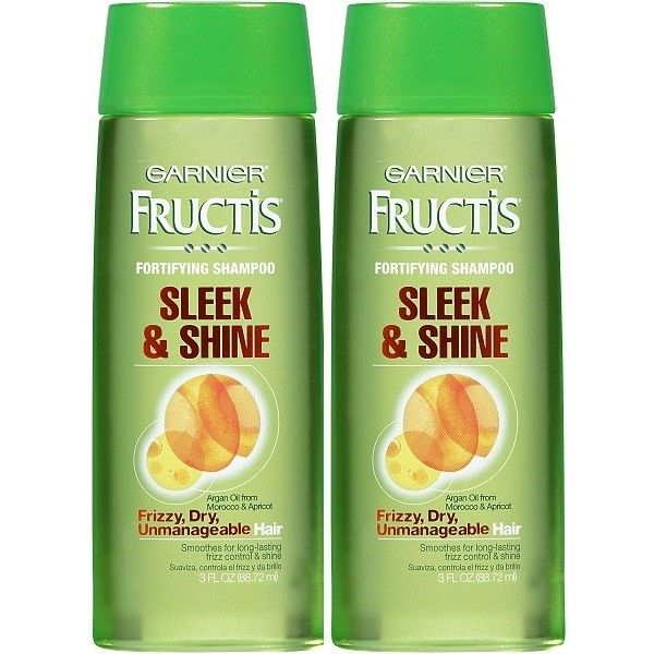 Garnier-Fructis-Sleek-Shine-Travel-Size-Shampoo-w-Argan-Oil-Strengthens-Hair-362393872066